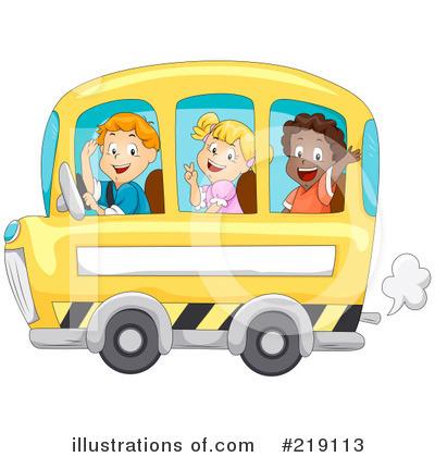 School Bus Clipart #219113 by BNP Design Studio