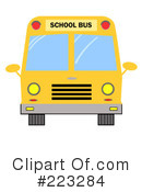 School Bus Clipart #223284 by Hit Toon