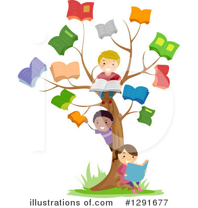 School Children Clipart #1291677 - Illustration by BNP Design Studio