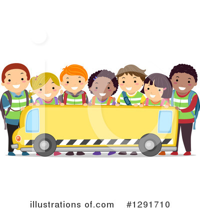 School Bus Clipart #1291710 by BNP Design Studio