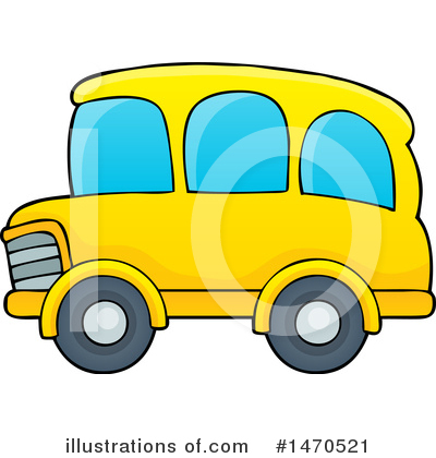 School Bus Clipart #1470521 by visekart