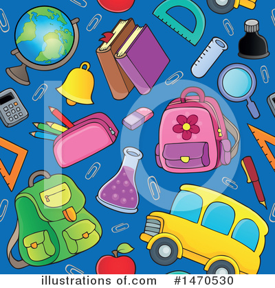 School Bus Clipart #1470530 by visekart