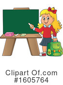 School Girl Clipart #1605764 by visekart