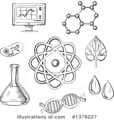 science clipart 1376227 illustration by vector tradition sm rh illustrationsof com free clipart science experiment free science clipart black and white