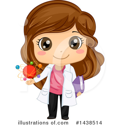 Scientist Clipart #1438514 by BNP Design Studio