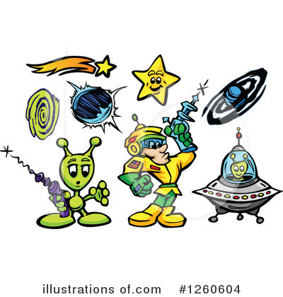 Ufo Clipart #1260604 by Chromaco