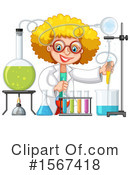 Scientist Clipart #1567418 by Graphics RF