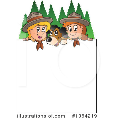 Scouts Clipart #1064219 - Illustration by visekart