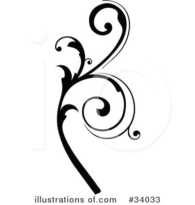 Royalty-Free (RF) Scroll Clipart Illustration by OnFocusMedia - Stock Sample #34033
