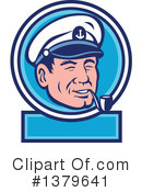 Sea Captain Clipart #1379641 by patrimonio