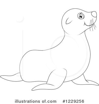 sea lion clipart 1229256 illustration by alex bannykh rh illustrationsof com baby sea lion clipart Octopus Clip Art