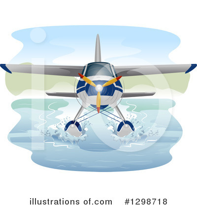 Airplane Clipart #1298718 by BNP Design Studio