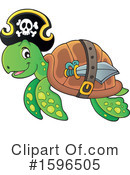 Sea Turtle Clipart #1596505 by visekart