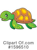 Sea Turtle Clipart #1596510 by visekart