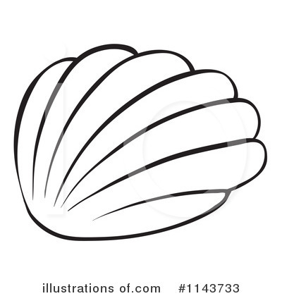 seashell clipart #1143733 - illustrationgraphics rf