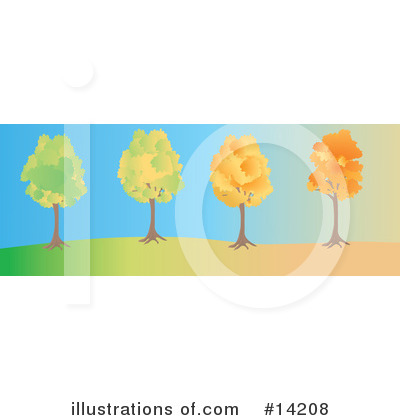 Royalty-Free (RF) Seasons Clipart Illustration by Rasmussen Images - Stock Sample #14208