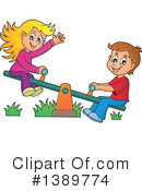 See Saw Clipart #1389774 by visekart