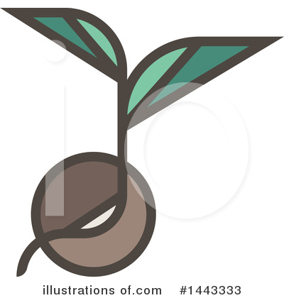 Seedling Clipart #1443333 by elena