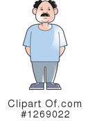 Senior Man Clipart #1269022 by Lal Perera