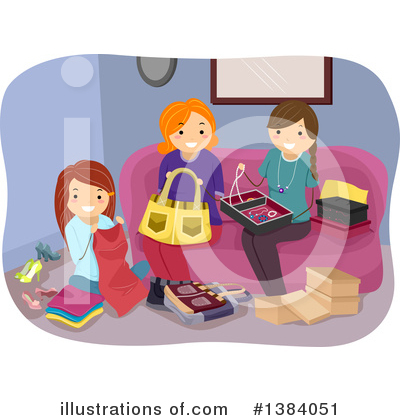 Sewing Clipart #1384051 by BNP Design Studio