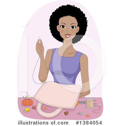Sewing Clipart #1384054 by BNP Design Studio
