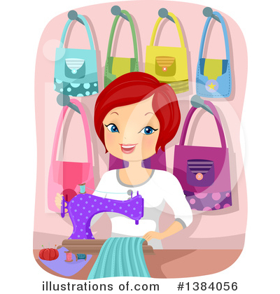 Sewing Clipart #1384056 by BNP Design Studio
