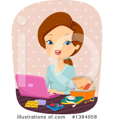 Sewing Clipart #1384058 by BNP Design Studio