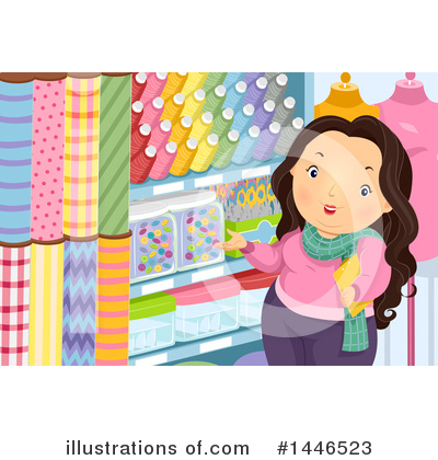 Sewing Clipart #1446523 by BNP Design Studio