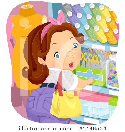 Sewing Clipart #1446524 by BNP Design Studio