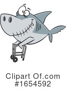 Shark Clipart #1654592 by toonaday