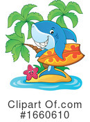 Shark Clipart #1660610 by visekart