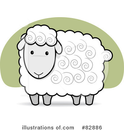 sheep clipart 82886 illustration by qiun rh illustrationsof com free primitive sheep clipart free clipart sheep lambs