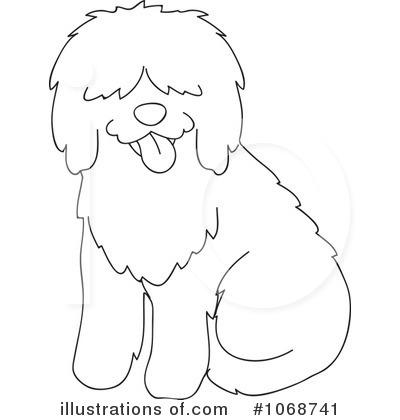 Royalty Free RF Sheepdog Clipart Illustration 1068741 By Rosie Piter
