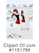 Shoes Clipart #1151786 by lineartestpilot