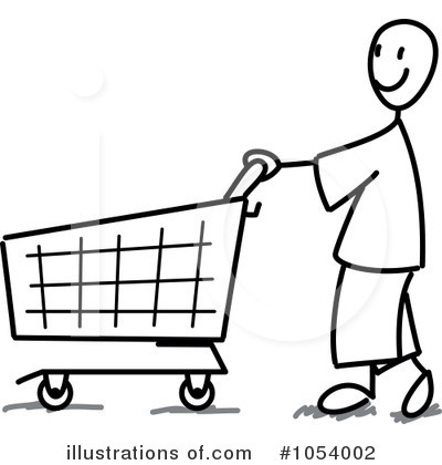 Shopping Clipart #1054002 - Illustration by Frog974