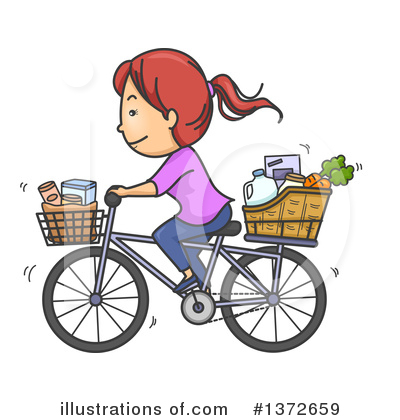 Bicycle Clipart #1372659 by BNP Design Studio