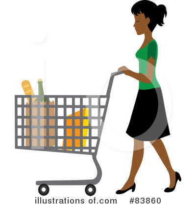 Shopping Clipart #83860 - Illustration by Rosie Piter