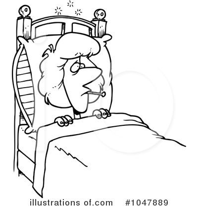 Sick Clipart #1047889 - Illustration by Ron Leishman