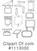 Signs Clipart #1113030 by Frisko