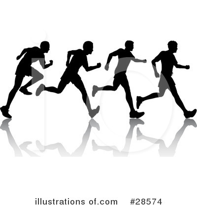 Jogging Clipart #28574 by KJ Pargeter