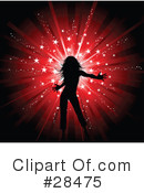 Silhouetted Woman Clipart #28475 by KJ Pargeter