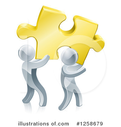 Teamwork Clipart #1258679 by AtStockIllustration