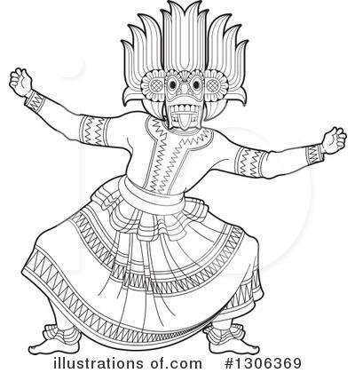 Sinhala Clipart 1306369 Illustration By Lal Perera