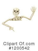 Skeleton Clipart #1200542 by AtStockIllustration