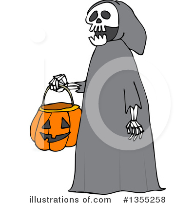 Trick Or Treat Clipart #1355258 by djart