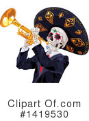 Skeleton Clipart #1419530 by Pushkin