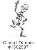 Skeleton Clipart #1602397 by Cory Thoman