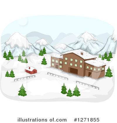 Clip Art Ski Resort