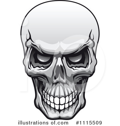 skull clipart 1115509 illustration by vector tradition sm rh illustrationsof com clip art skull clipart skull mug image