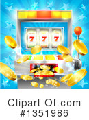 Slot Machine Clipart #1351986 by AtStockIllustration